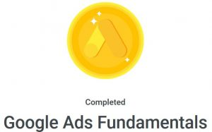 Google ad fundamentals